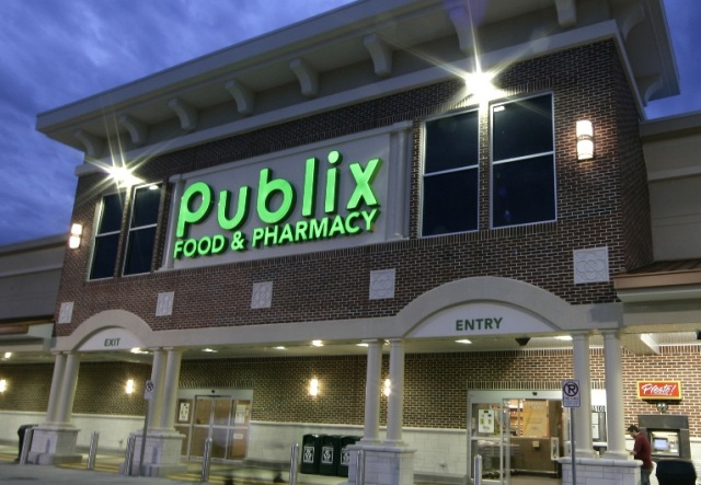 Thanks to Donors and sponsors at Publix