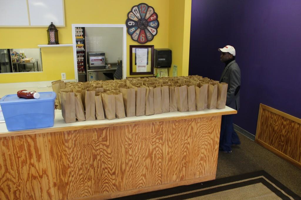 Food Bank Distribution Preparation