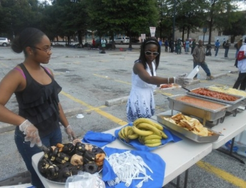 Handmaidens Ministries Inc Feeds 300 People During Labor Day Weekend